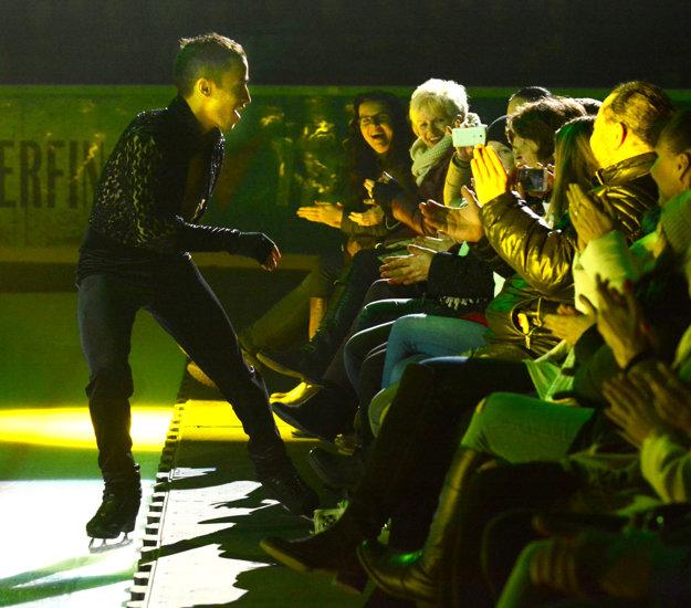 Hviezdy na dosah. Misha Ge koketoval s diváčkami.