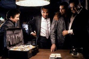 Vo filme Goodfellas (Mafiáni,  1990) sa Scorsese venoval svojej  obľúbenej gangsterskej téme.