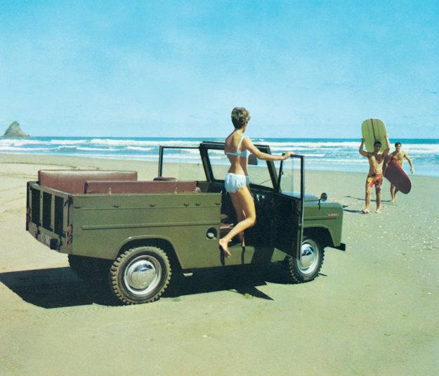 Škoda Trekka bola dostupná aj v plážovej verzii