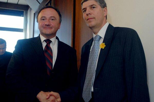 Pál Csáky a Béla Bugár