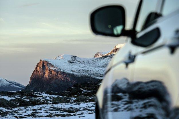 Táto fotografia bola zachytená začiatkom októbra na náhornej plošine pod vrchom Dalsnibba.