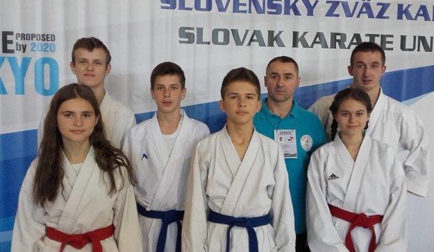 Výprava KK ZZO Čadca na šampionáte v Trnave.