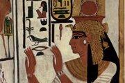 Maľba kráľovnej Nefertari.