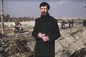 John Cantlie na propagandistických záberoch.