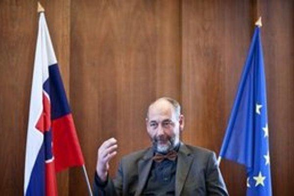 Minister hospodárstva Tomáš Malatinský.