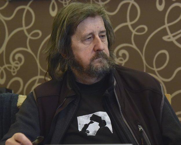 Alexander Balogh, autor knihy Ján Langoš, strážca pamäti.