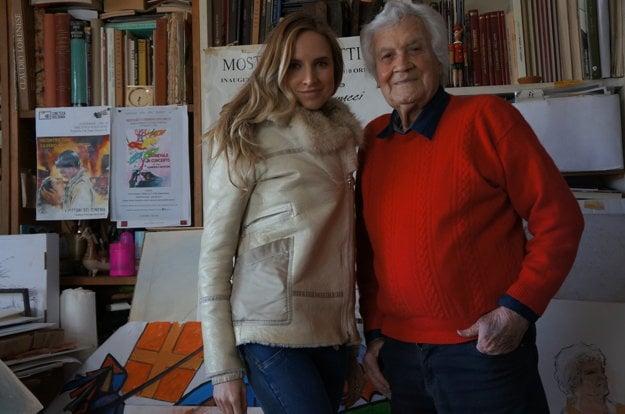 So Silvanom, maliarom a priateľom Marilyn Monroe