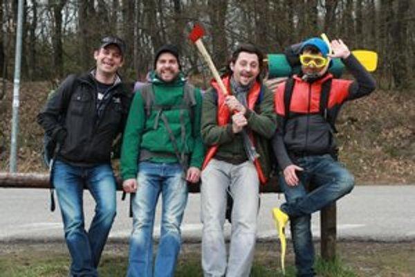 Miezga, Kemka, Latinák a Jakab propagujú Slovensko.