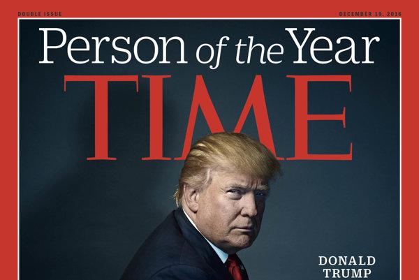 Donald Trump na obálke časopisu Time.