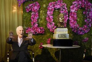 Známy herec sa dožil sto rokov.