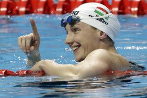Maďarská plavkyňa Katinka Hosszúová, ilustračná foto.
