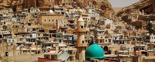 Maaloula. Jedno znajstarších kresťanských miest na svete.