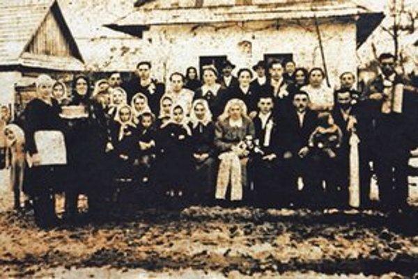 Svedkovia z Ostrého Grúňa.