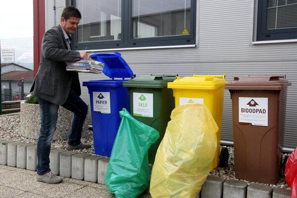 Mesto chce podnikateľov motivovať k triedeniu odpadu.