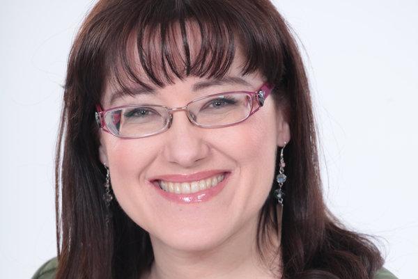 Mária Tóthová Šimčáková. Detská psychologička má pre rodičov vždy dobrú radu.