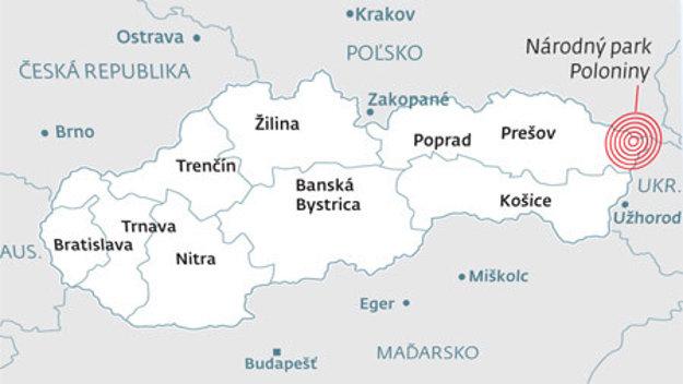 Územie zvané Vlčie hory sa rozprestiera na hranici medzi Slovenskom, Poľskom a Ukrajinou. Súčasť Východných Karpát, na Slovensku sú to Poloniny, v Poľsku Bieščady a na Ukrajine Užanský národný park.
