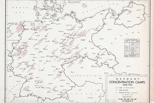 Nemecké koncentračné tábory v roku 1944.