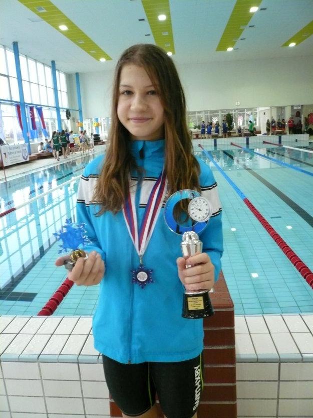 Celková víťazka kategórie D - Hana Vasilová