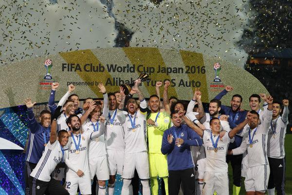 Futbalisti Realu Madrid vyhrali majstrovstvá sveta klubov druhý raz za posledné tri roky.
