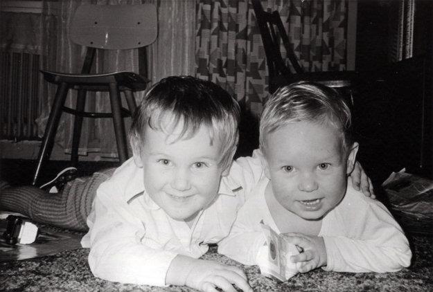 Manželia Tóthovci majú dvoch synov - Michala (vľavo, je o rok starší) a Mateja.