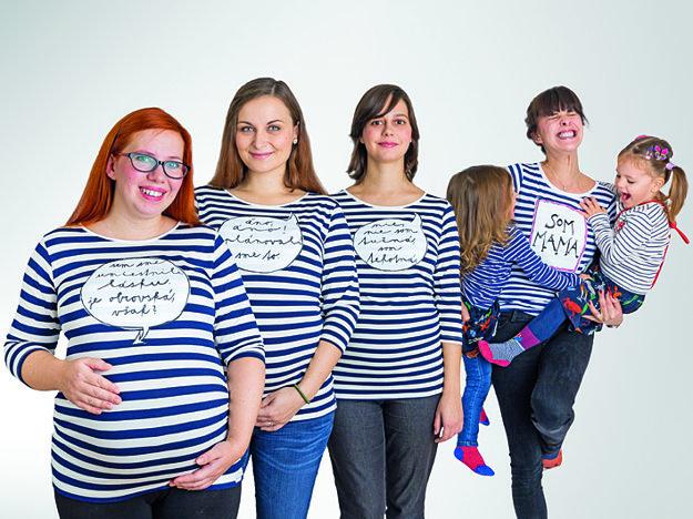 Nové tehotenské koláčovské tričká od Kristíny