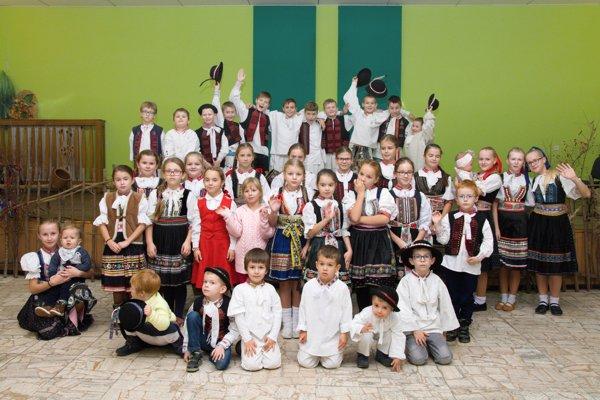 Detská batôžková veselica sa v Soblahove teší veľkej obľube.
