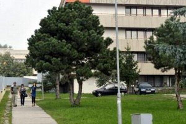 Študentský domov  v Mlynskej doline v Bratislave.
