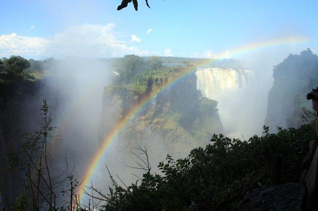 Viktóriine vodopády sú jedným z prírodných divov sveta.