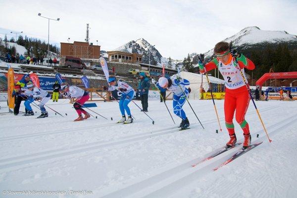 Tatranský pohár vbehu na lyžiach. Prilákal kvalitných pretekárov.