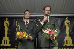 Iba pred pár dňami Ladislava (vpravo) a Petra Škantárovcov vyhlásili za víťazov ankety Kanoista roka.
