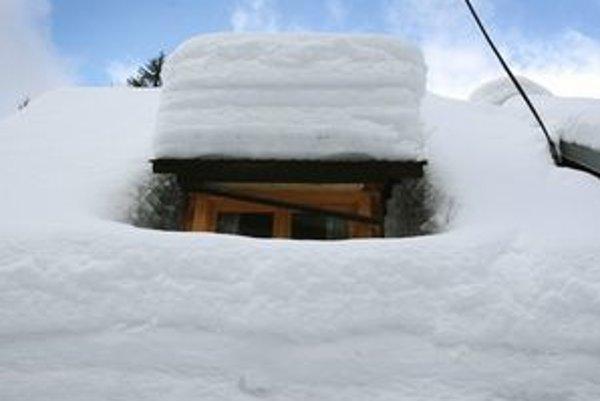 Zima na Starých Horách.