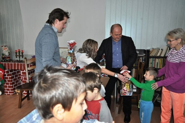 Prekvapenie pre deti z centra Lúč.
