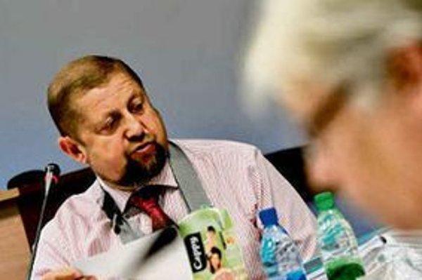 Šéf Najvyššieho súdu Štefan Harabin (na snímke) sudcu ignoroval, za pravdu mu dal až Ústavný súd.