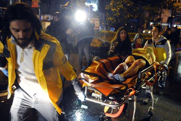 Teroristi útočili aj na nový rok v Istanbule.