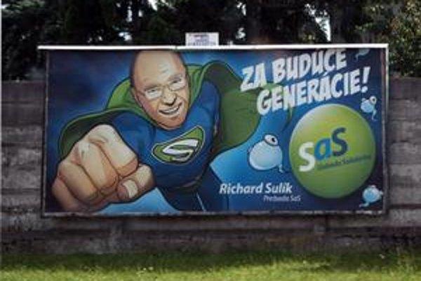 Richard Sulík lákal pred voľbami na 120 nápadov, oblek Supermana a belasé spermie.