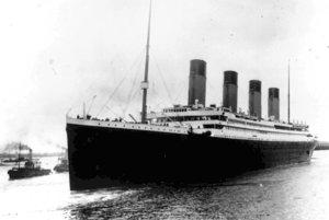 Nepotopiteľný Titanic sa potopil v roku 1912.