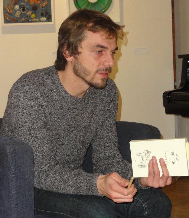 Autor čítal zo svojej knihy Uchom ihly.