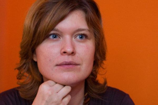 Šéfka Aliancie Fair-play Zuzana Wienk.