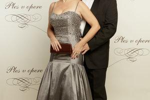 Ľubica Vargicová s partnerom