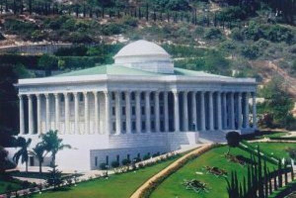 Sídlo Svetového domu spravodlivosti, najvyššieho orgánu bahájov v Izraeli.