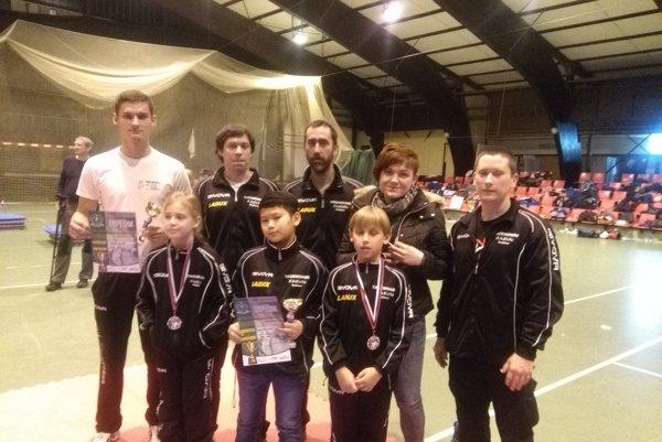 Výprava Taekwondo Hakimi na majstrovstvách Slovenska.