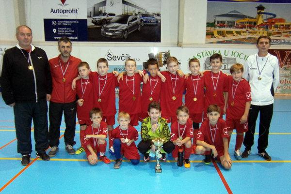 Mladí Trenčania vyhrali turnaj.