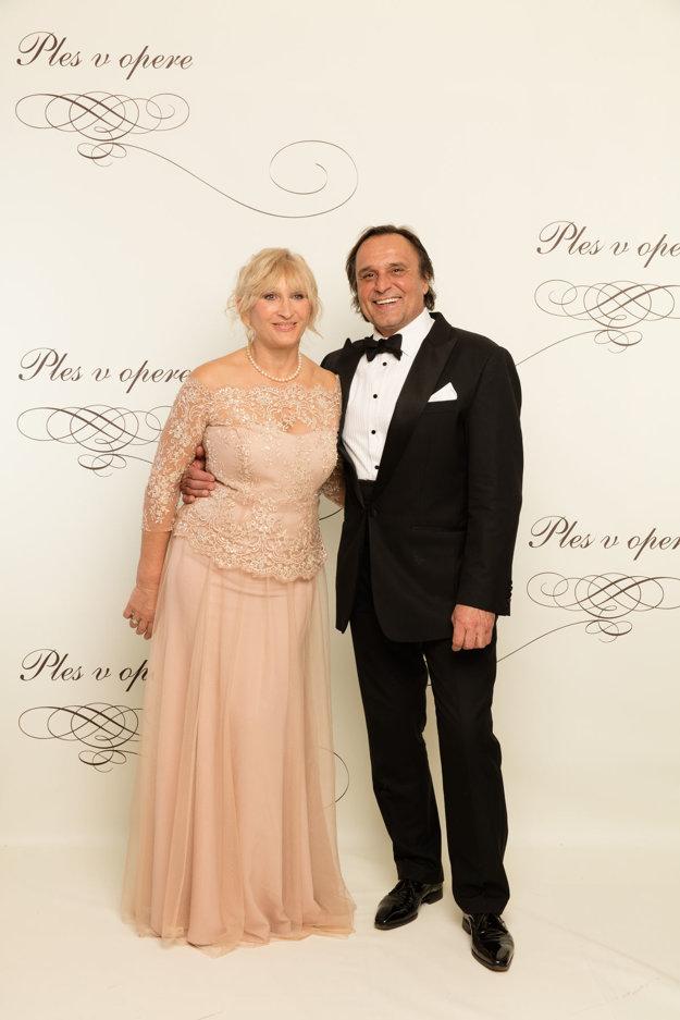 Jozef Vajda a Júlia.