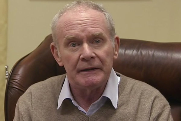 Martin McGuinness oznámil svoju rezignáciu.