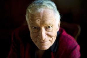 Zakladateľ a kreatívny riaditeľ Playboy Enterprises Hugh Hefner.