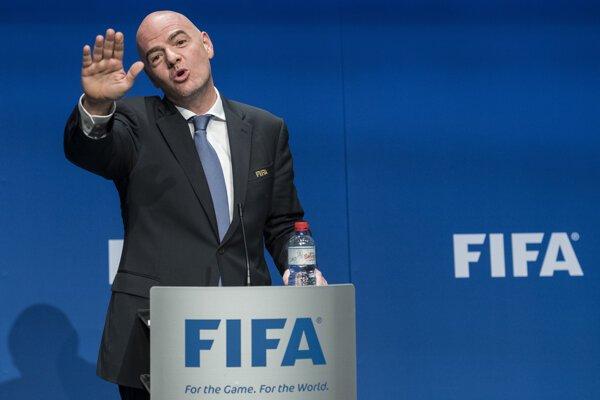 Prezident FIFA, Gianni Infantino.