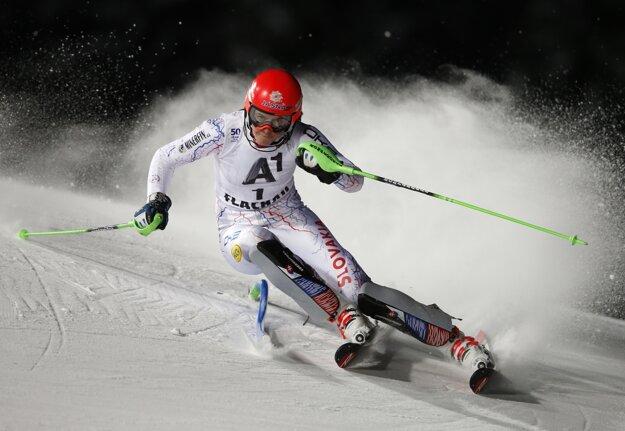 Petra Vlhová slalom vo Flachau napokon nedokončila.