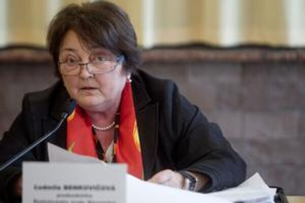 Ľudmila Benkovičová, šéfka Štatistického úradu.