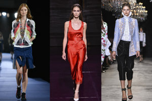 Alexis Mabille, Nina Ricci, Andrew GN
