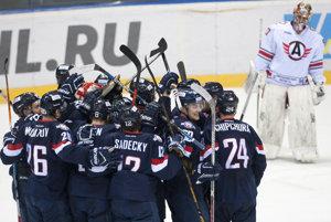 Slovan Bratislava porazil Jekaterinburg.
